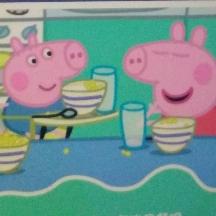 小猪佩奇――乔治打嗝了