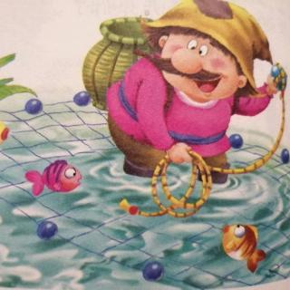 击水的渔夫