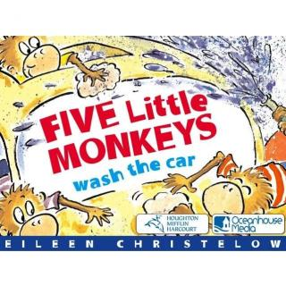 【艾玛读绘本】Five Little Monkeys Wash the Car 讲解
