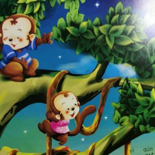 赞赞爸爸讲故事之《猴子捞月》