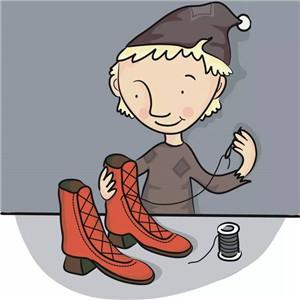 两个神秘的小鞋匠 - 👄 小欣欣👄