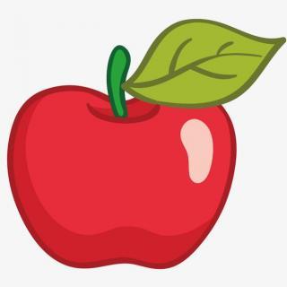 红红的苹果