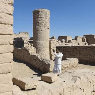 瞬间毁灭的印度古城