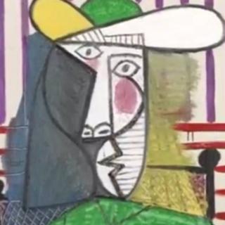 热议 | 价值1.8亿元毕加索名画被撕
