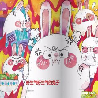 好生气好生气的兔子🐰