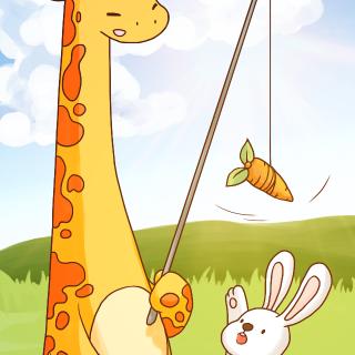 兔子小姐和长颈鹿先生的故事