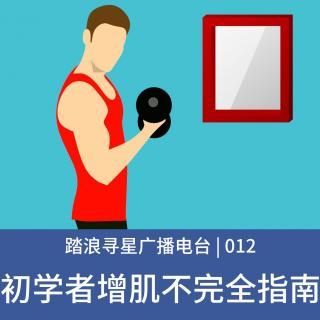 012 - 初学者增肌不完全指南