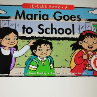 Maria  goes  to  school
