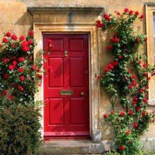 散文朗诵:席慕容的《小红门》