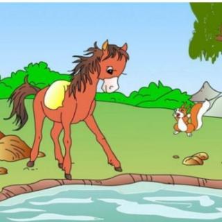 寓言故事《小马过河》