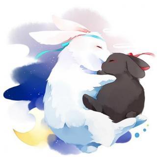 10晚安故事   小灰兔与小白兔