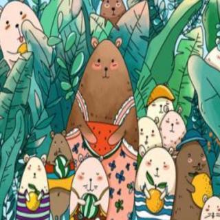 【领航卓越故事】园长妈妈睡前故事486《小熊🐻的颜色餐厅🍴》