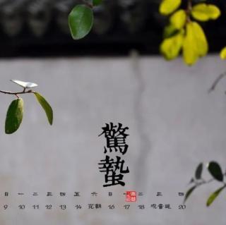 南怀瑾 | 惊蛰背后的天地智慧——藏器于身,待时而动