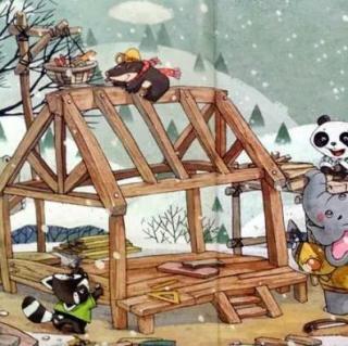 Aaron妈咪讲故事啦~熊猫多多的新屋