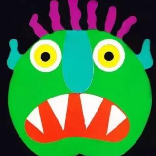 Go away big green monster请走开绿色的大怪物