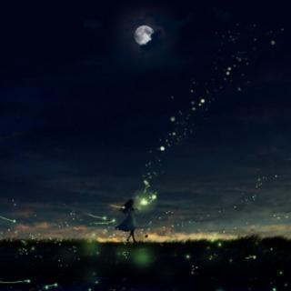 恰见明月栖山–所念皆星河