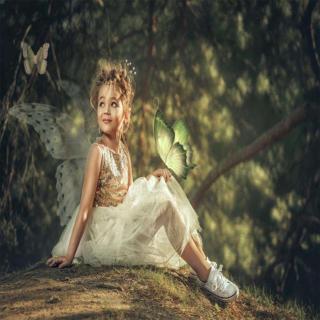 《毛毛虫与小女孩》