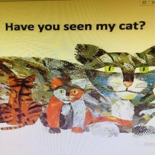 英语晚安故事:你看见我的猫了吗