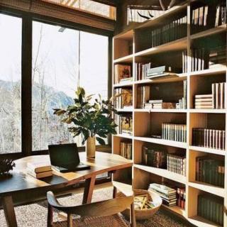 用一间书房抵抗全世界