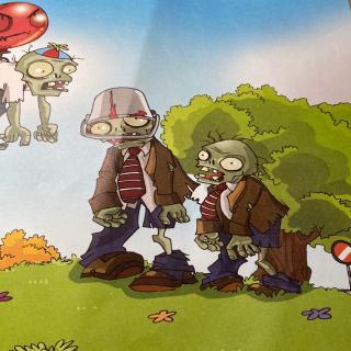 植物大战僵尸武器㊙️密的故事巜我的头上有铁桶》