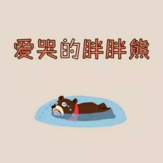 爱哭的胖胖熊