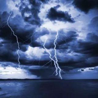 -( 纯音乐)  超逼真雷雨天-