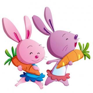 金鼎实验幼儿园睡前故事763—《两只小兔子》