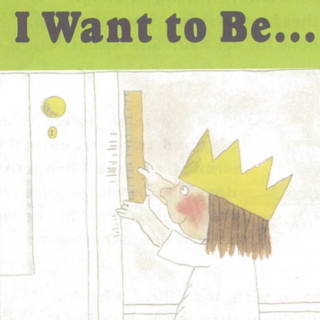 Kids' story-- (I Want to Be...)