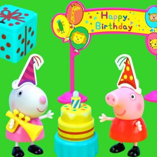 小猪佩奇的生日屋,猪爸爸表演变魔术