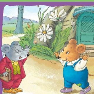 月亮老师讲的第18个故事《城里老鼠和乡下老鼠》