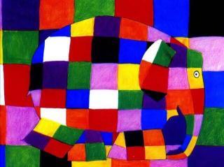 《花格子大象艾玛》