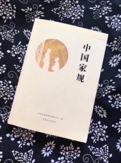 《中国家规》21/陆久渊:家之兴替 在于礼义不在于富贵贫贱