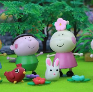 春天来了,小趣和朋友们一起学布谷鸟叫
