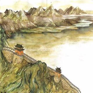 黄河远上白云间,一片孤城万仞山。