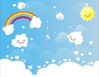 育红幼儿园🌞第51个睡前故事《爱讲故事的小白云》