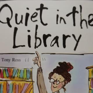 培生幼儿英语基础级-Quiet in the library