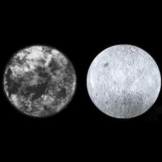 他用超能力画出了月球的背面……