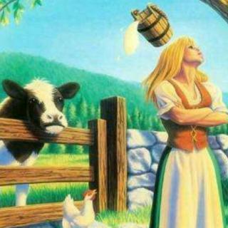 小周老师讲故事《挤牛奶的姑娘》