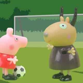 小猪佩奇之有趣的足球运动会
