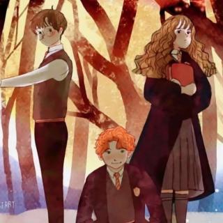 哈利波特人物解說   哈利、赫敏、和羅恩