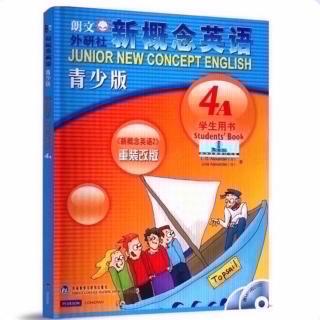 新概念青少版4A Unit24 句型