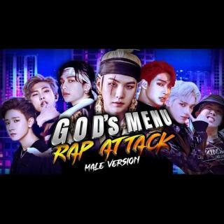 [Mashup] GOD'S MENU | Rap Attack