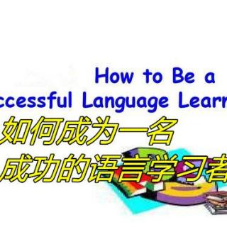 HOW TO BE A SUCCESSFUL LANGUAGE LEARNER