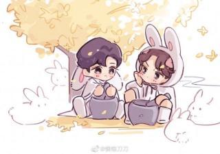 小仙猪和玉兔的爱情故事01