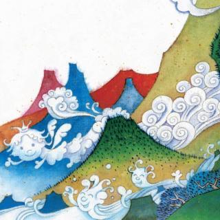 「雪莹阅会」望庐山瀑布