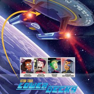 《星际迷航:下层舰员》红黄蓝的职场厚黑学(附金花的黑历史)