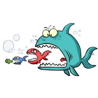 寓言故事《大鱼和小鱼🐟》
