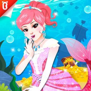 【美人鱼公主】海底游乐园:阿宝公主找宝藏【宝宝巴士故事】