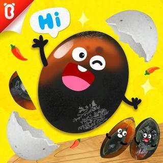 【蔬菜超人】鸭蛋弟弟大变身:奇怪的黑蛋【宝宝巴士故事】