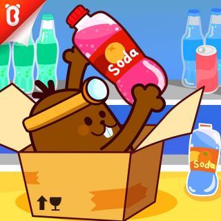【安全警长拉布拉多】清洁剂不装食品罐中:偷汽水的神秘纸箱【宝宝巴士故事】